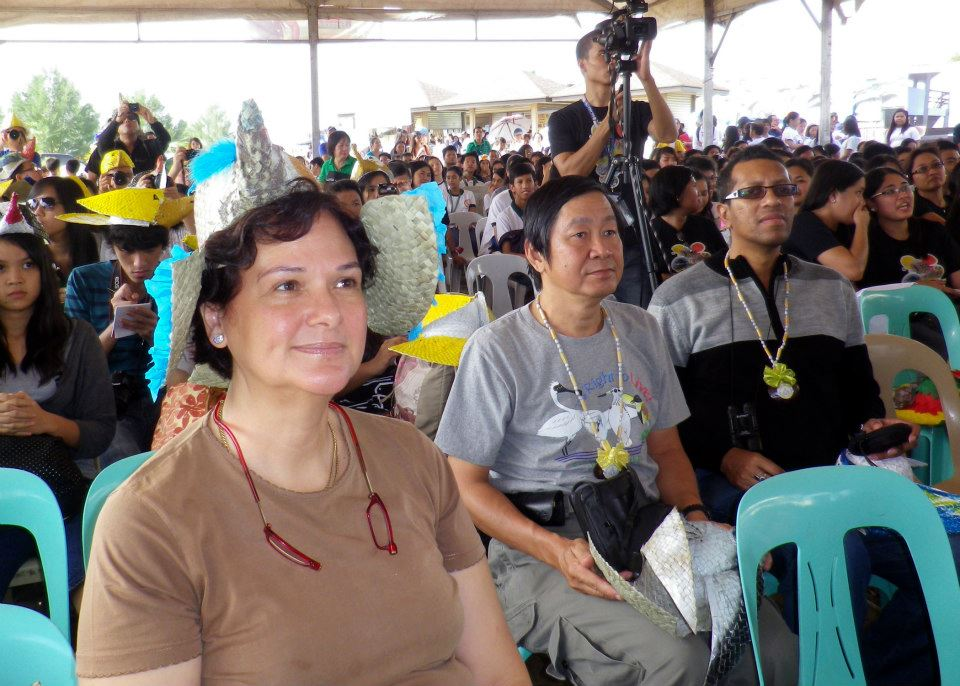 Vice President Gina Mapua and delegates at Balanga, Bataan. Photo by Cristina Cinco