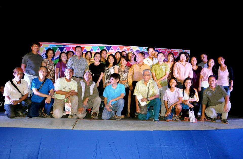 WBCP members at the Welcome Dinner. Photo by Anthony Arbias