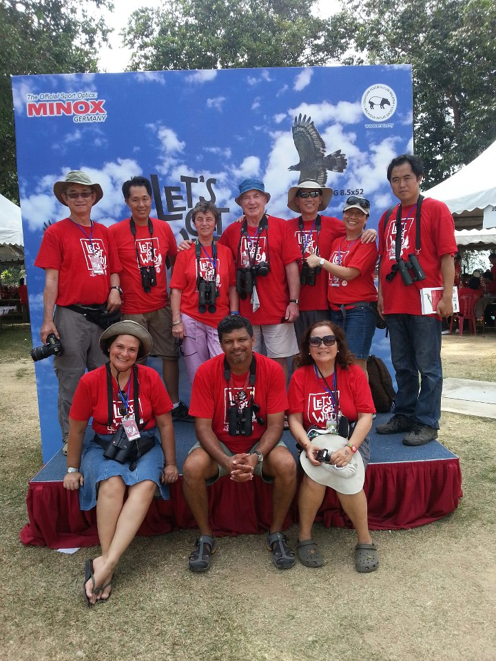 International delegates who attended the Raptorwatch 2013 in Malaysia. Photo from MNS.