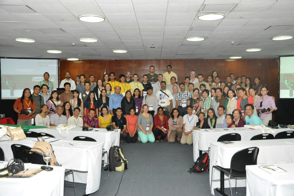 Delegates of the 6th International Hornbill Conference in Manila, the Philippines. Photo by Anthony Arbias