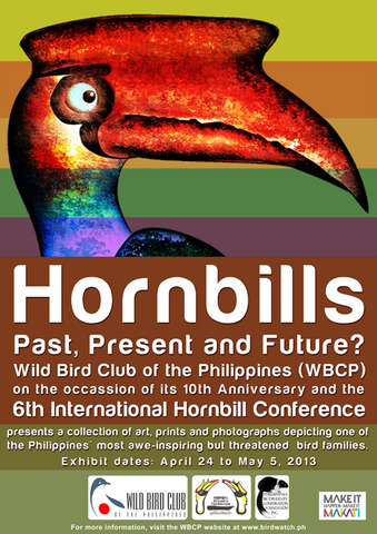 Hornbill Exhibit at Ayala Museum