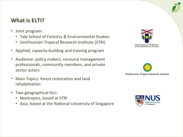 6th International Hornbill Conference, Dr. David Neidel, slide 2