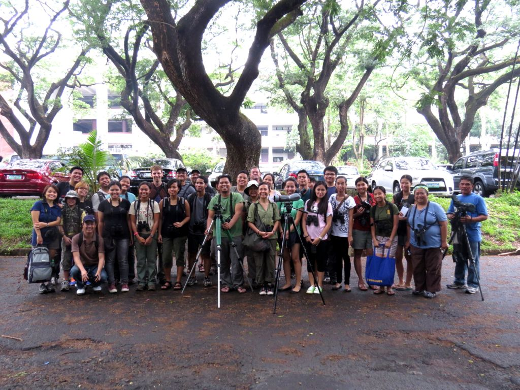 Group photo of the participants and guides. Photo by Maia Tanedo