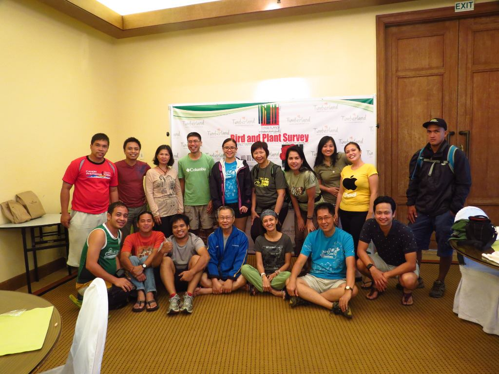 Group photo including WBCP and PNPCSI members, Filinvest and Timberland staff, and guests. Photo by Vincent Lao