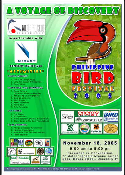 The first Philippine Bird Festival