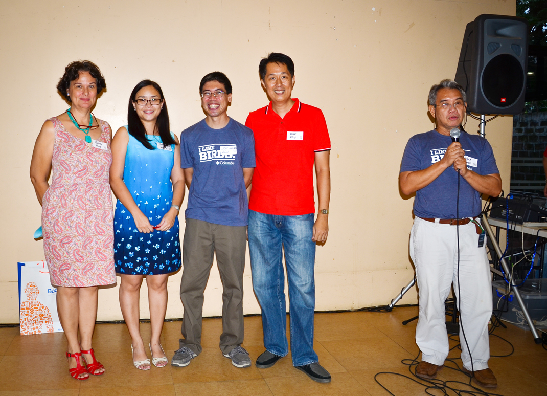 The new set of WBCP officers for the year 2013: President Gina Mapua,  Vice President Maia Tañedo, Secretary Jon Javier and Treasurer Mike Lu. Photo by Marites Falcon.