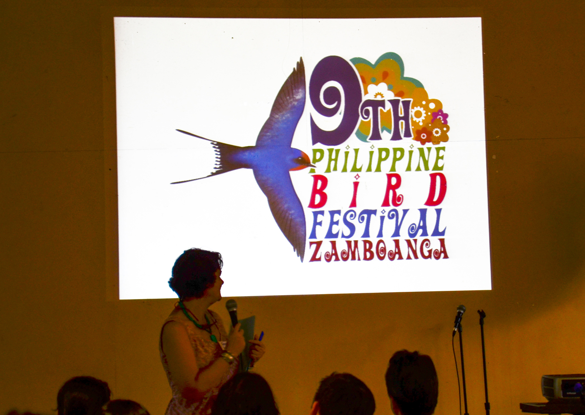 The 9th Philippine Bird Festival Zamboanga Event logo revealed. Photo by Marites Falcon.
