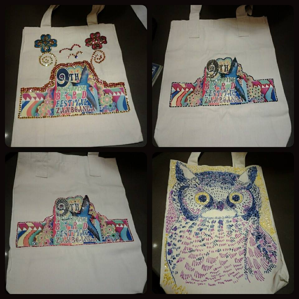 WBCP's 9th PBF embellished bags were put up for auction with proceeds to go to a special fund for our partners in Zamboanga. Bags were embellished by Marites Falcon, Babie Magadia, Lydia Robledo, and Robert Alejandro.