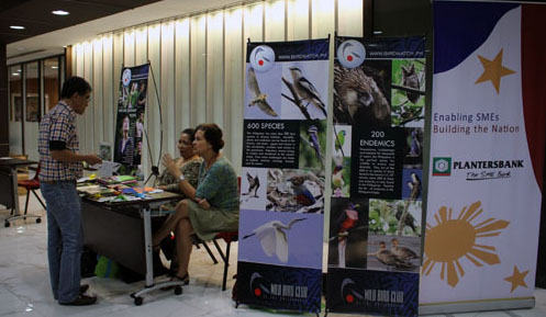 WBCP booth at the Eco-Lifestyle Exhibit. Photo by Ned Liuag.