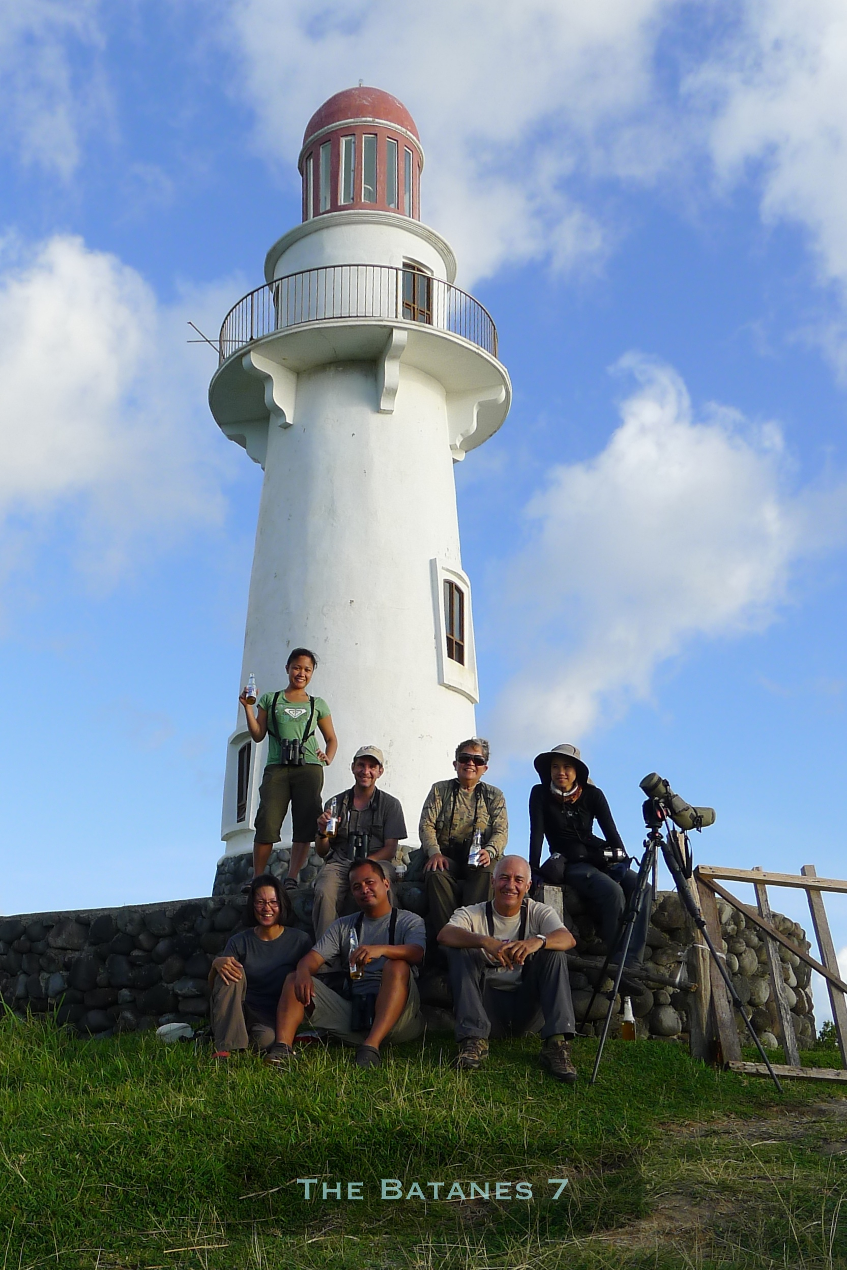 The Batanes 7. Back Row: Kitty Arce, Rob Hutchinson, Ixi Mapua, Irene Dy Front Row: Sylvia Ramos, Tonji Ramos, Christian Perez