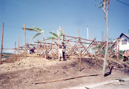 Start of construction.