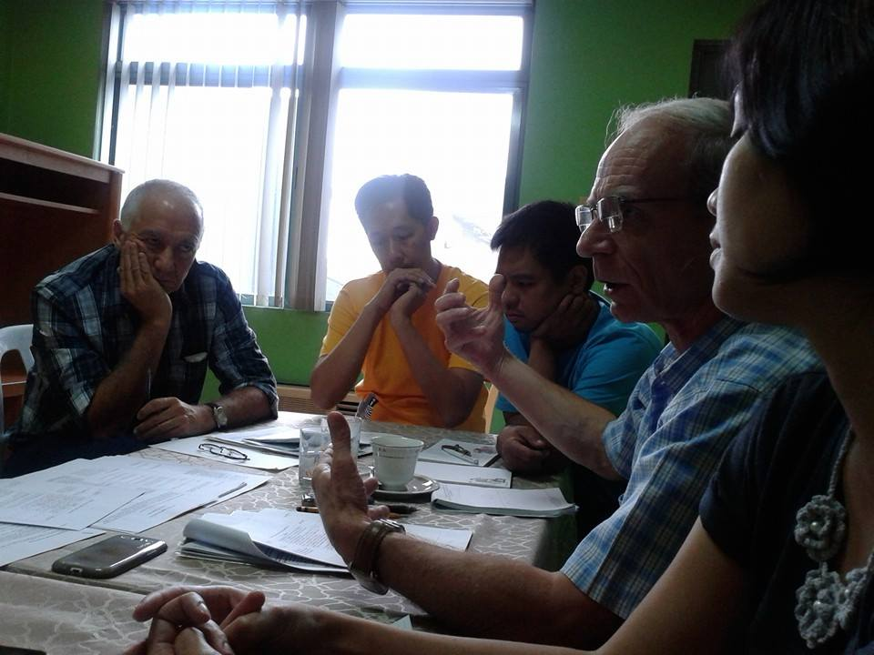 Discussion during the Records Committee Meeting. Photo by Tinggay Cinco