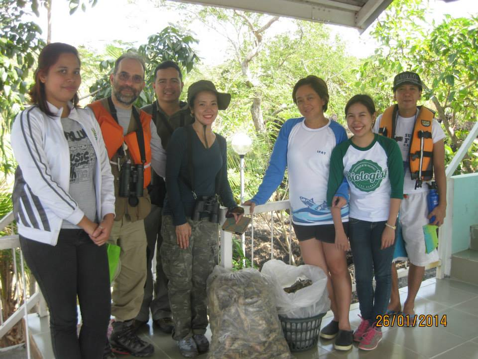 The team for AWC Taal. Photo from Ipat Luna