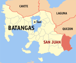 San Juan, Batangas From Wikipedia