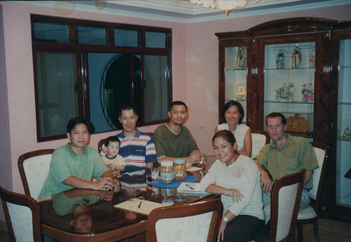 One of the earlier meetings of the WBCP. From L-R: Andrew Galano, Mike Lu (founding), Jon Villasper (founding), Natalie McCarthy, James McCarthy (founding), Kitty Arce (founding)