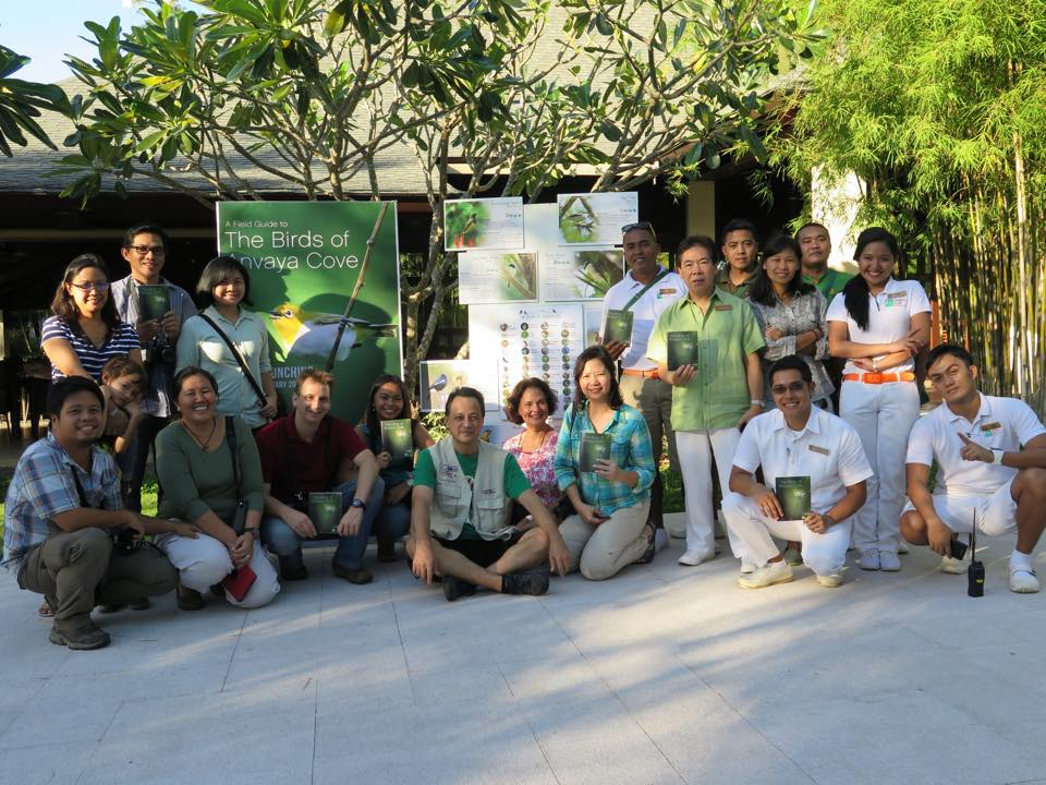 A soft launch of the field guide was held at Anvaya in January. Photo by Raymond Sandoval.