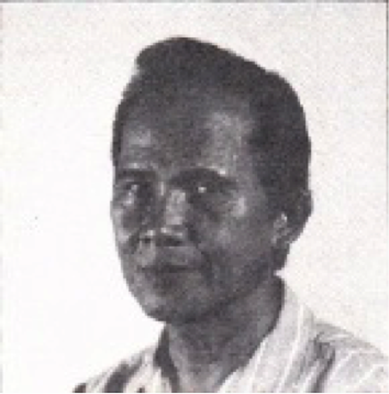 Pedro Gonzales in 1988 (from the book back cover)