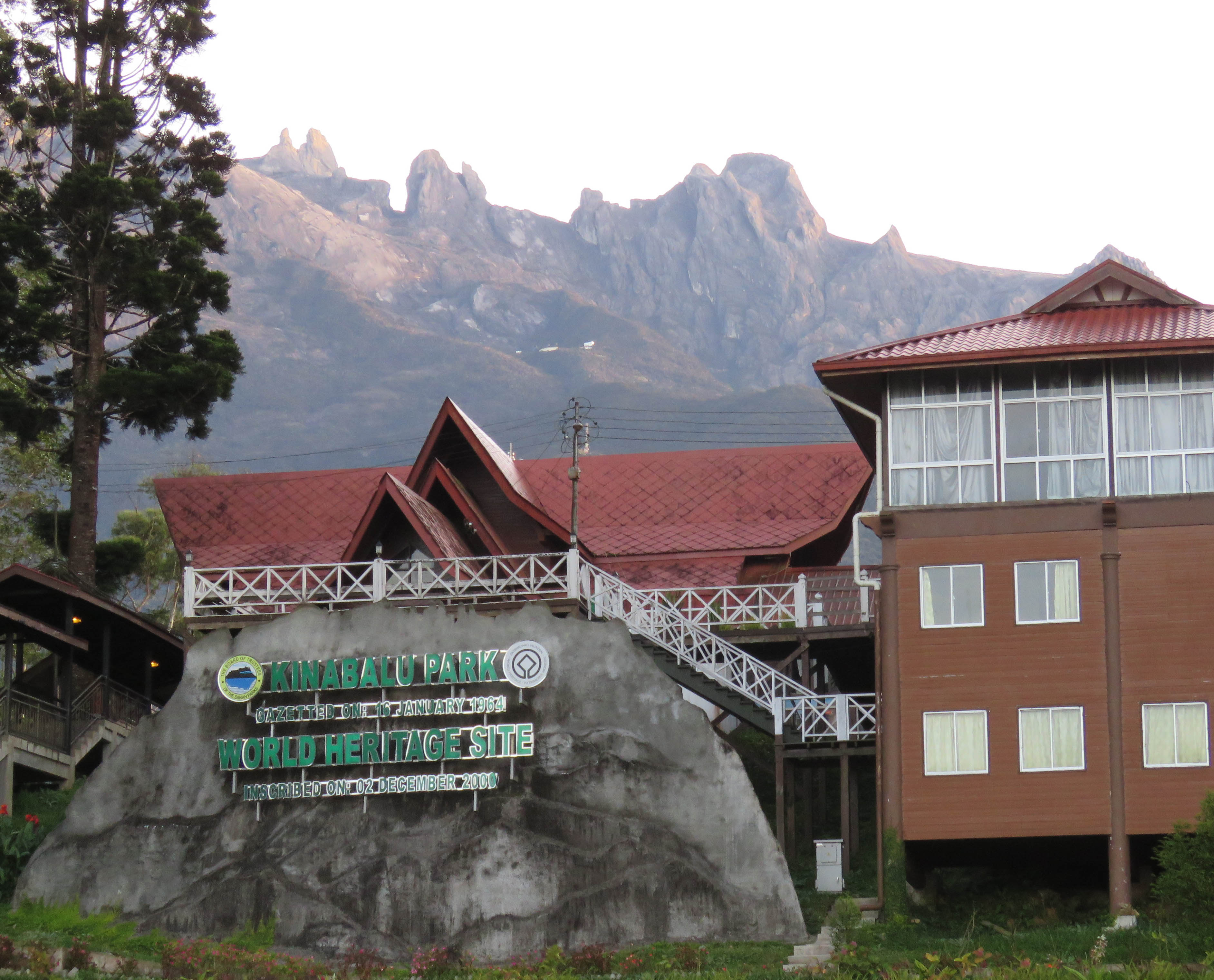 Mt Kinabalu Park Entrance. Photo by Randy Weisser.