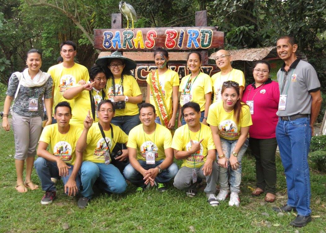 Tinggay and I with the organizers of the 1st Tacurong City Bird Festival. [Tinggay Cinco]