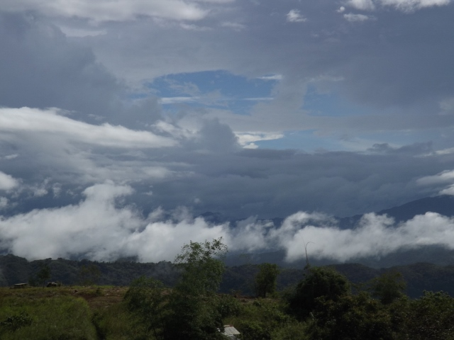 Tanay, Rizal the day before Typhoon Lando (Koppu) made landfall, October 16, 2015. Photo by Linda Gocon.