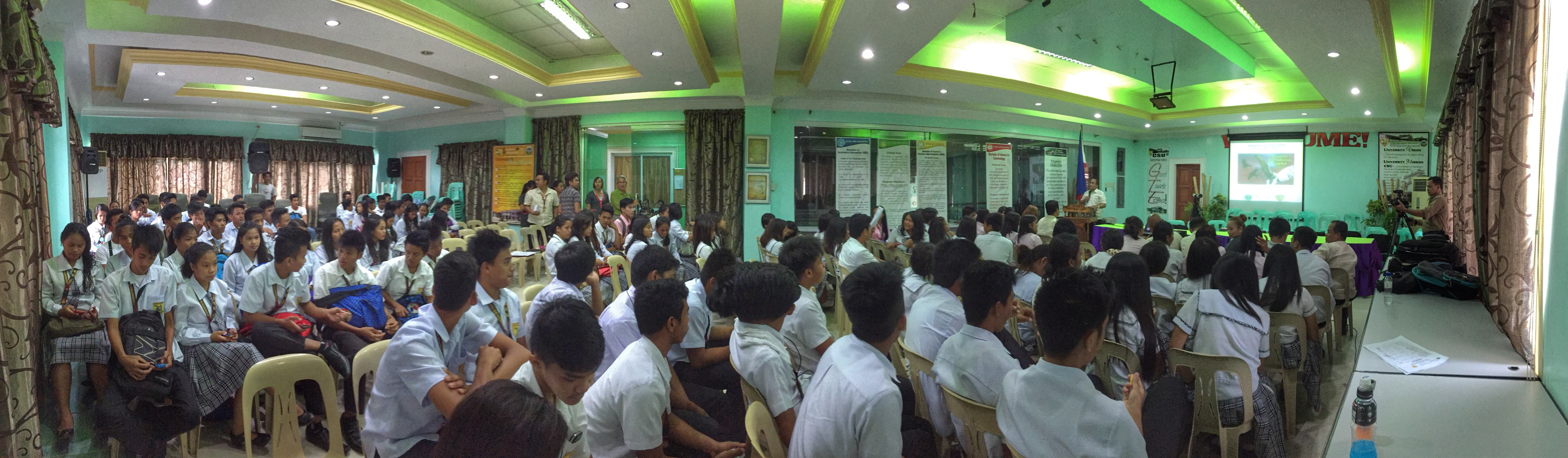 Lecture at Cagayan State University.