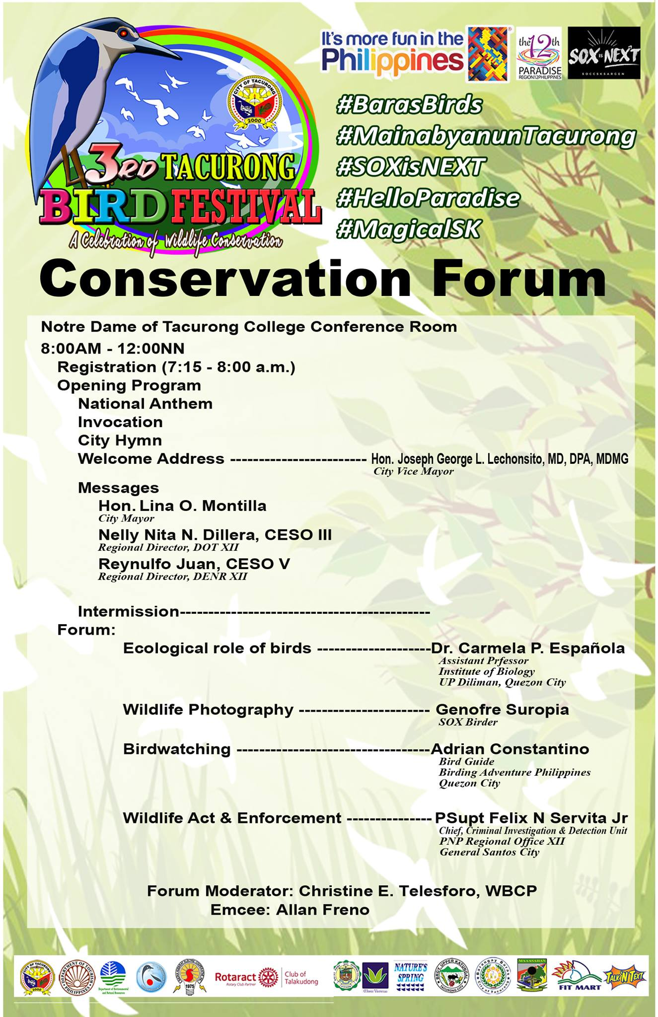 01 Conservation Forum Program